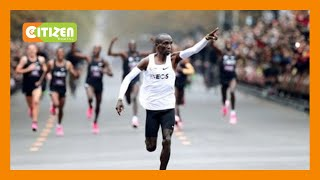 | MAKING HISTORY | History as G.O.A.T Eliud Kipchoge breaks sub-two hours barrier