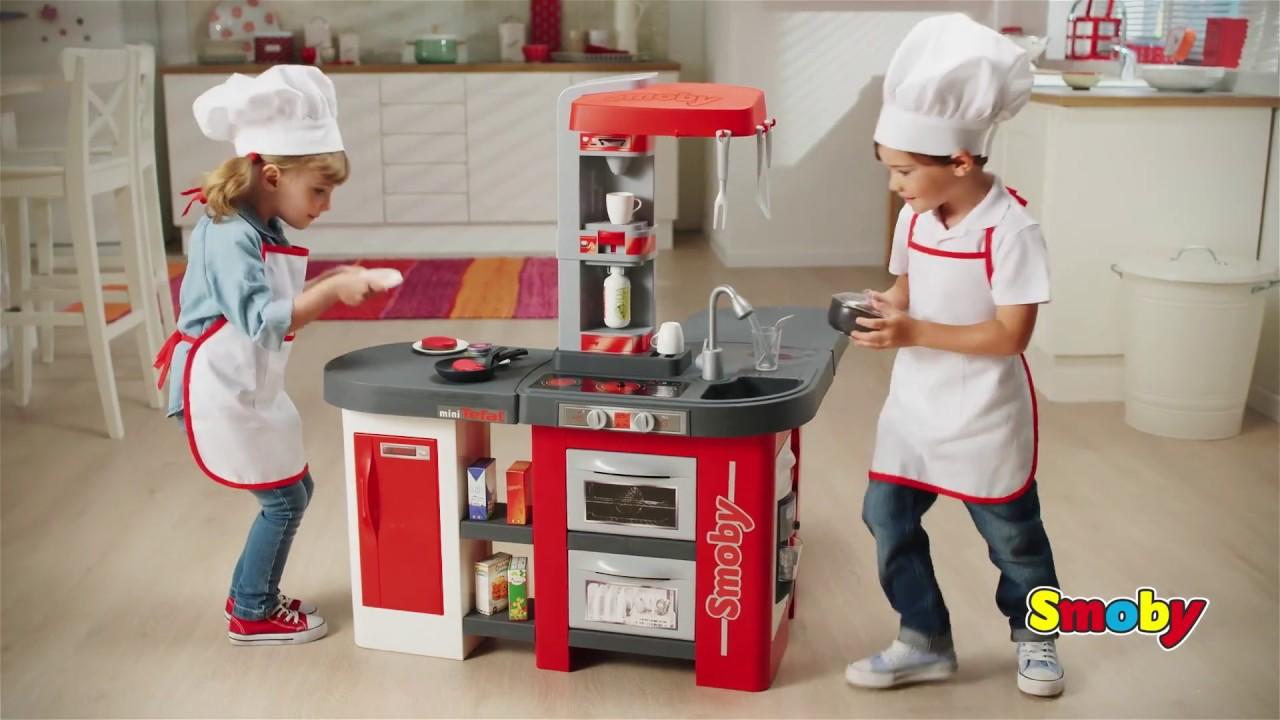 Детская кухня Smoby Tefal Studio XXL кипение  39 акс.