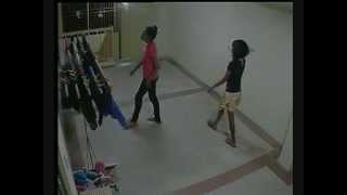 caught on cctv girls stealing clothes in hdb singapore