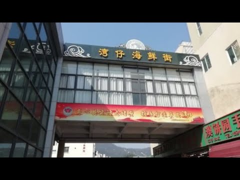 【4k】2019-walking-tour---zhuhai-wanzai-seafood-street-珠海灣仔海鮮街