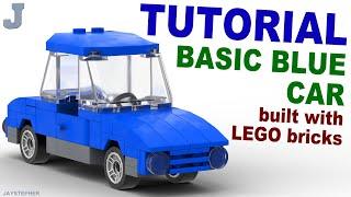 Video Tutorial - Basic Lego Blue Car download MP3, 3GP, MP4, WEBM, AVI, FLV September 2017