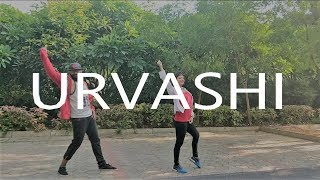 Tej's choreography ft. Varsha | urvashi dance cover | yo yo honey singh