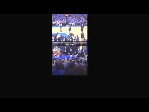 Ian Godsey of Section925 takes you live inside Chesapeake Energy Arena for Warriors' Game 6 triumph.