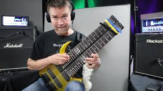 Space in between  - Strict legato  Tapping solo