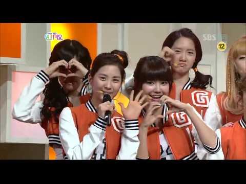 [HD] SNSD sends their love to Yuri 100307