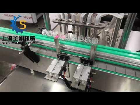 6 servo filling machines