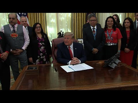 Trump Creates Missing American Indian Task Force