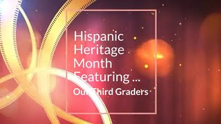Hispanic Heritage Month with Mrs. Stone's Class!