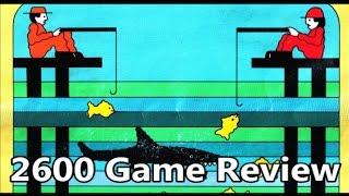 Fishing Derby Atari 2600 Review - The No Swear Gamer Ep 300