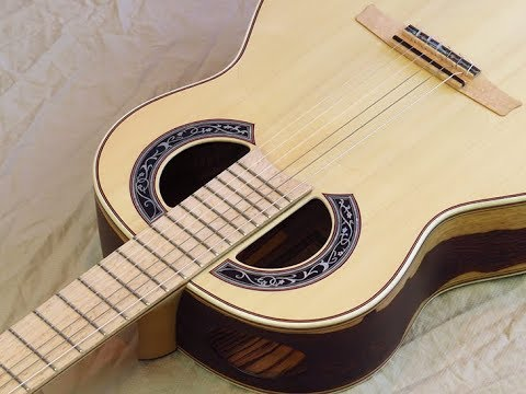 Double Back Simplicio 1929 a Balance Negra Wittner pegs (Review) Andalusian Flamenco Guitars Spain
