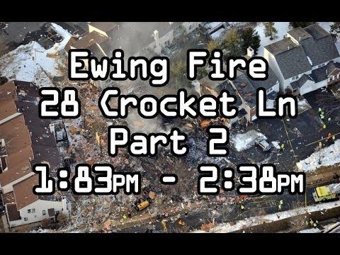 Natural Gas Explosion, Ewing NJ Fire Department Homes explode , Part 2 DISPATCH AUDIO