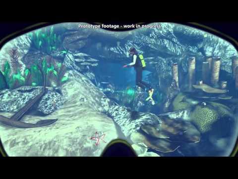 World of Diving (Oculus Rift supported) - Prototype Gameplay Trailer - Eurogamer