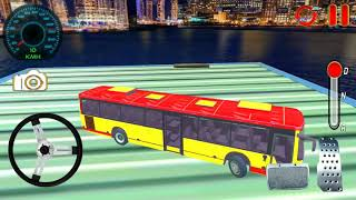 Impossible Bus Driver Sky Tracks Android Gameplay #2