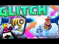 SPARKY SHOOTS AIR!?!? • Clash Royale Legendary Glitch