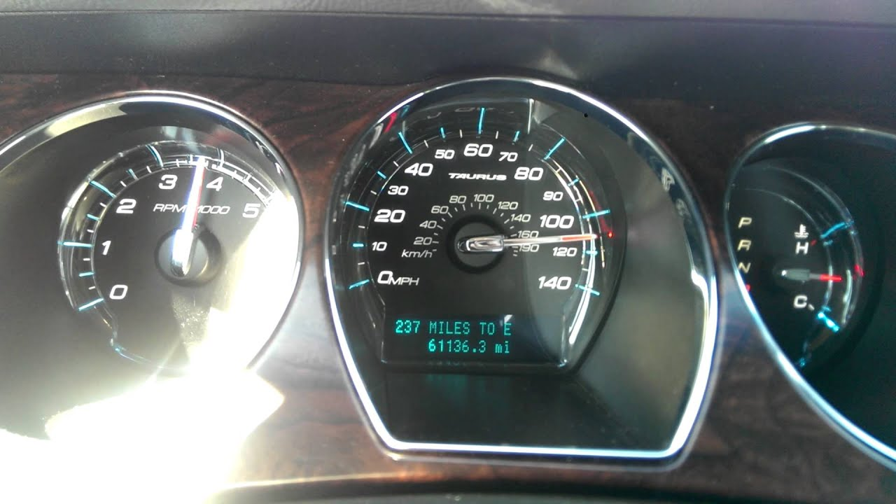 2012 Ford Taurus top speed - YouTube