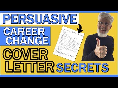 TRANSFERRABLE SKILLS COVER LETTER   Persuasive Career Change Cover Letter Secrets