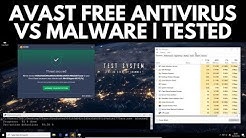 Avast Free Antivirus Review | Tested vs Malware