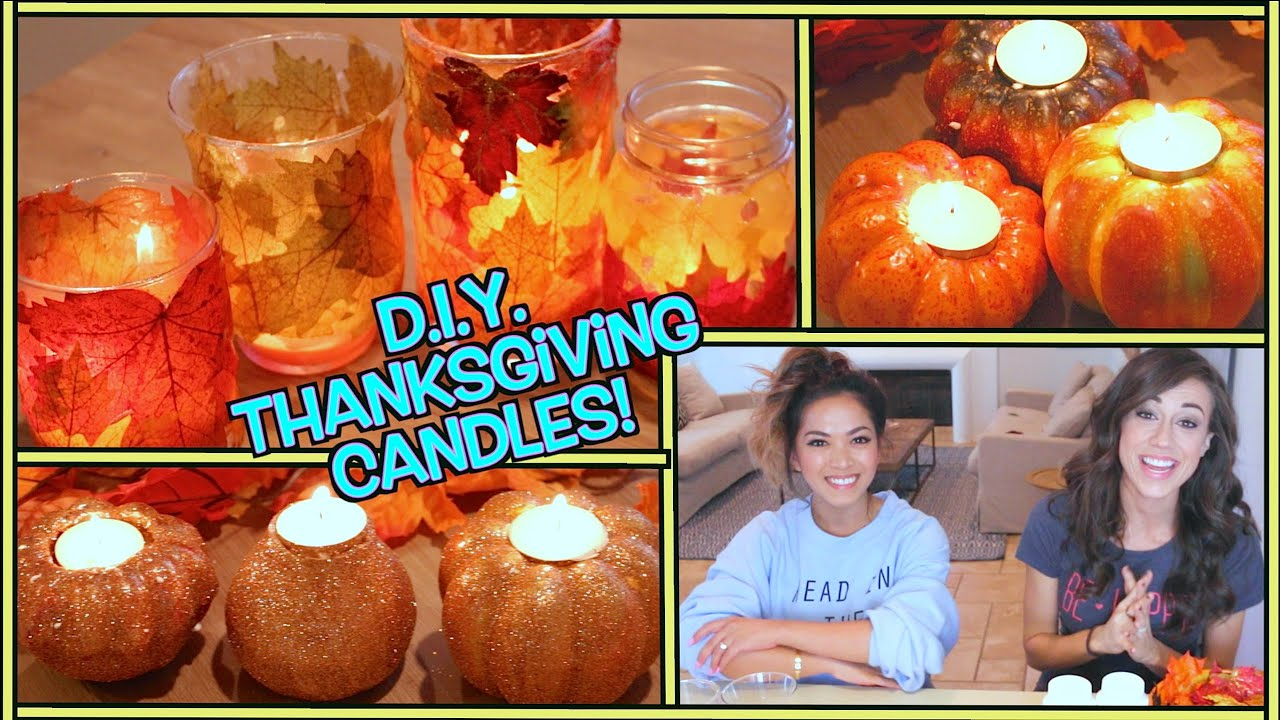 thanksgiving craft gift ideas d i y thanksgiving candles w thatsheart 5553
