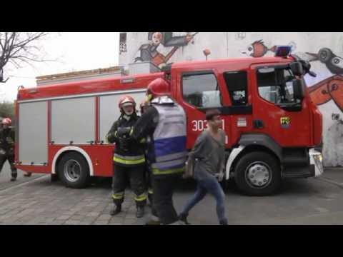Film instruktażowy przygotowany przez Komendę Miejską Państwowej Straży Pożarnej w Katowicach