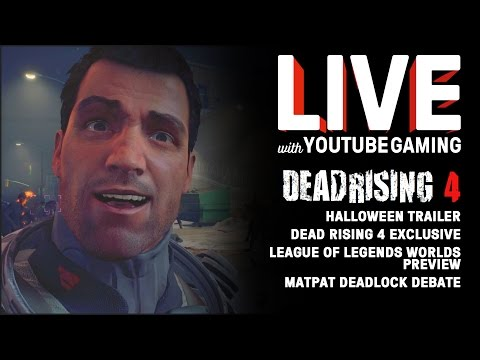 Live with YouTube Gaming Episode 5: Halo Wars 2, Deadlock Debate, LOL Worlds