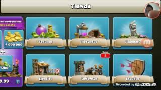 Actualizacion de clash of clans de octubre 12 2016