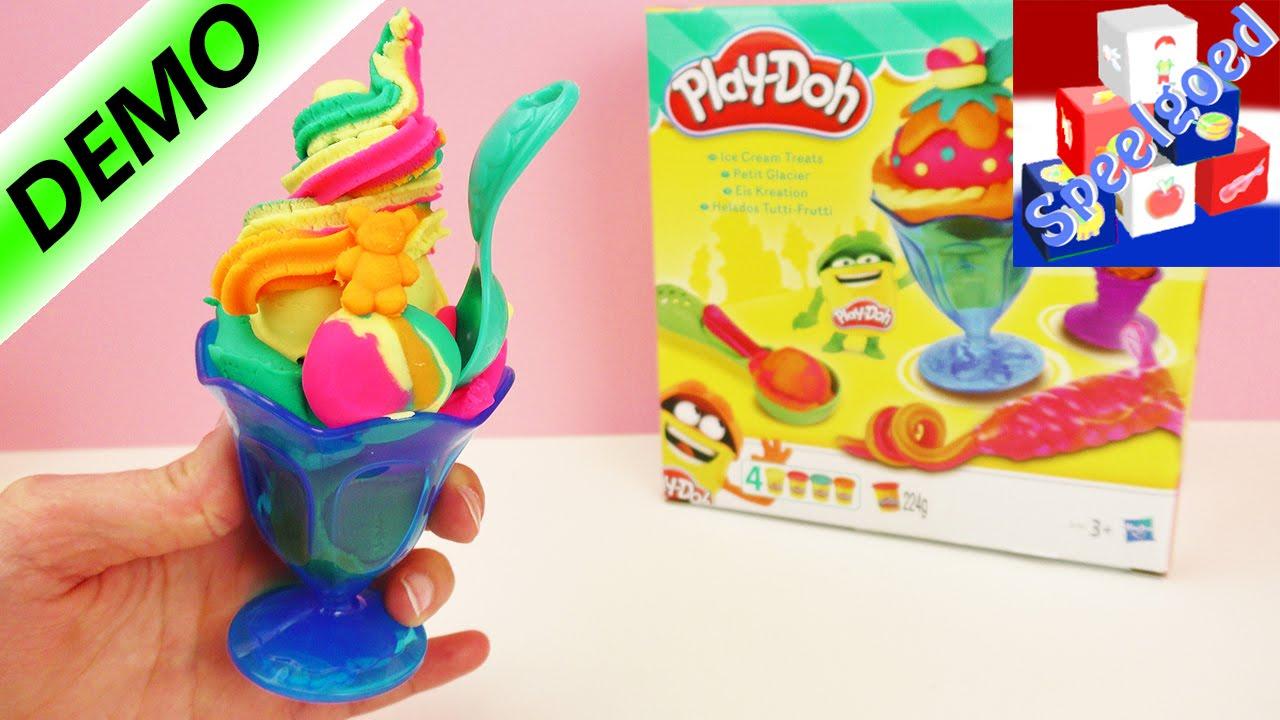 Uitgelezene Play-Doh IJscreaties speelset om te kleien voor kinderen vanaf 3 JK-71