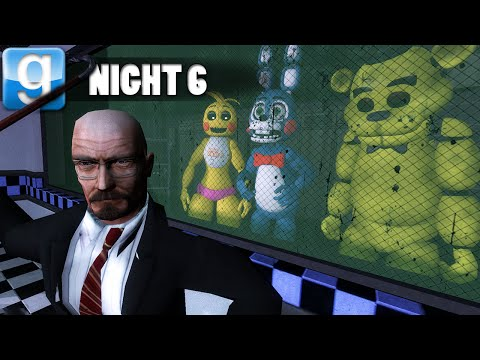 Five Nights At GMOD | Nightmare Night 6