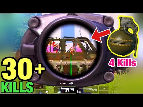 Wipe Out Squads In 1 Second With 1 Grenade | PUBG MOBILE