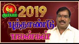 Kumbam: 2019 New Year Palangal - கும்பம்: 2019 ஆங்கில புத்தாண்டு பலன்கள்