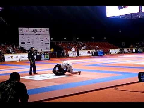 """Rubens """"Cobrinha"""" Charles vs Celso Vinicius 2011 World Pro -65kg SEMI FINALS"""