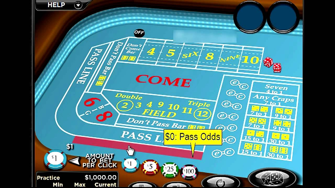 How to win craps system