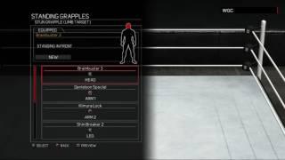 WWE 2K17:Shinsuke Nakamura moveset(Xbox 360/PS3)