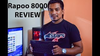 Rapoo 8000 Wireless Keyboard & Mouse Combo Review | Unboxing | India