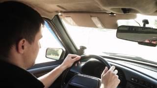 Первое вождение на автодроме