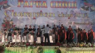 Gema Chandra Choir. UNCEN. Ride the Chariod.