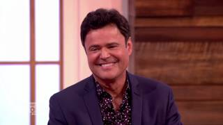 Donny Osmond Sings Puppy Love | Loose Women