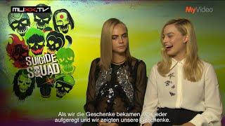 Suicide Squad: Interview mit Margot Robbie & Cara Delevigne