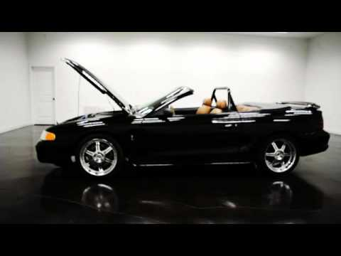 1995 Ford Mustang Cobra Hardtop Convertible Youtube