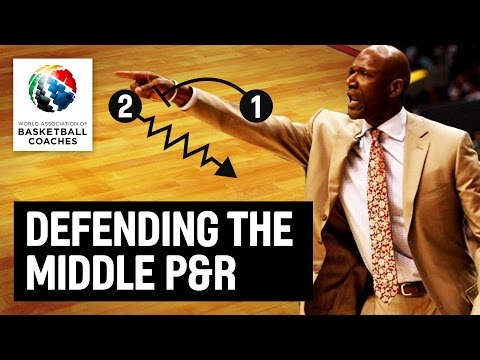 Defending the middle P & R - Terry Porter - Basketball Fundamentals