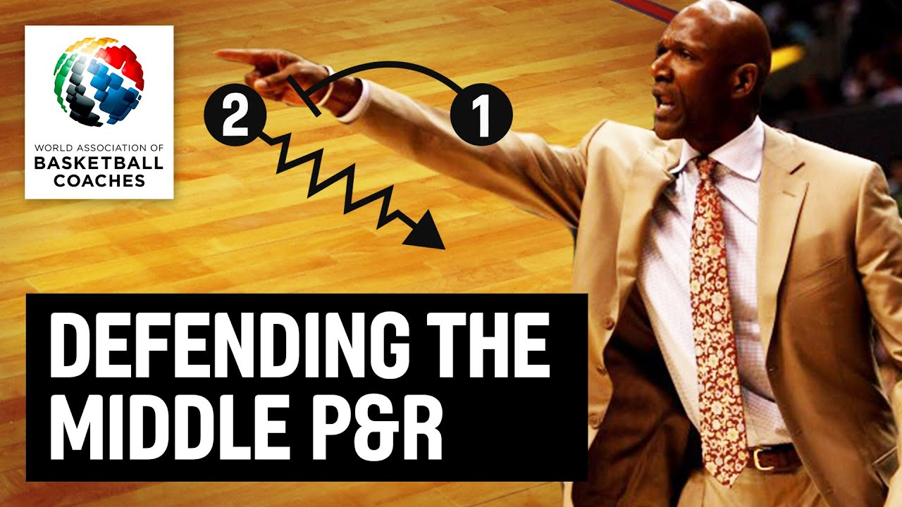Defending the middle P & R - Terry Porter