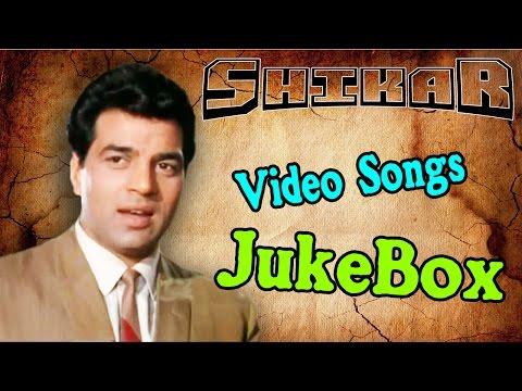 Shikar L Dharmendra, Asha Parekh & Sanjeev Kumar L Best Hindi Songs Of Bollywoodl Jukebox