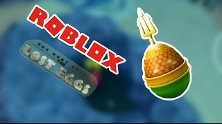 How to get Aqua Pal of Egglantis in Roblox Egg Hunt 2017 (devexfierygamer)