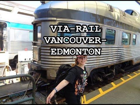 Canadian Via Rail Overnight Vancouver-Edmonton- CAMT121