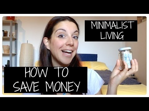 Minimalist living: 13 tips for money saving