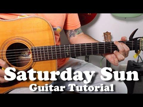 Vance Joy - Saturday Sun Guitar Easy Beginner Acoustic Guitar Tutorial