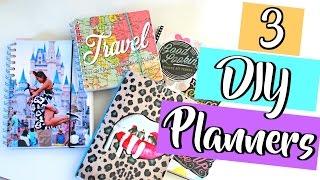 3 Easy DIY Planners You Must Try | Belinda Selene