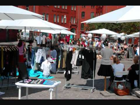 "Radio Berlin interviewed den Fashion Markt ""The White Market"""