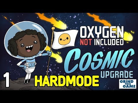 COSMIC UPGRADE Base #1 (Hardest Difficulty) - Oxygen Not Included - Solar Panel, Egg Cracker, Glass