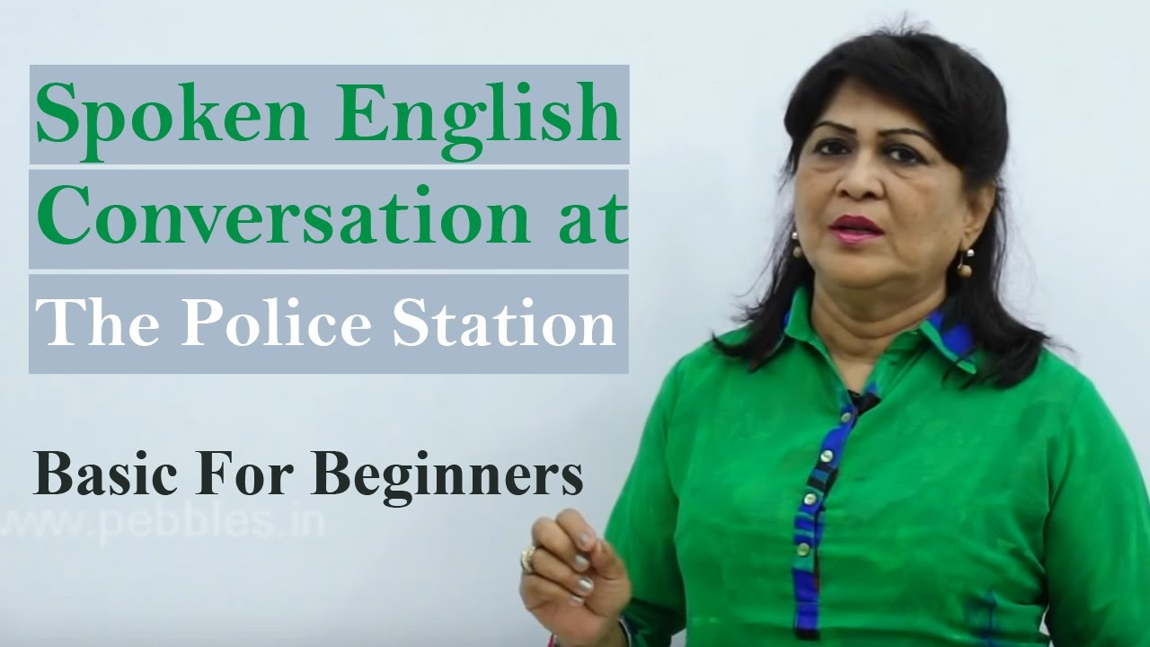 Conversation at the Police Station || Spoken English