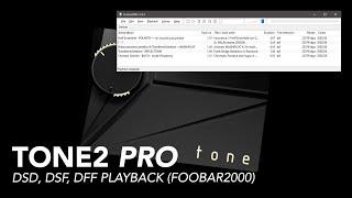 Tone2 Pro - Bit Perfect DSD Playback (Foobar2000)
